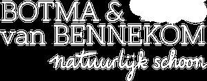 Botma & van Bennekom logo wit